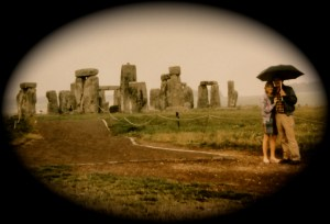 We stopped by Stonehenge while honeymooning in England.