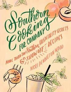 Southern Cooking for Company by Nicki Pendleton Wood features my Peanut Butter Pie recipe.
