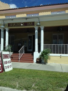 ...to the Historic Seminole hotel in Indiantown...
