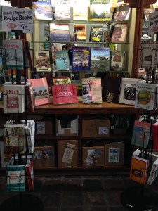 """""""Easy Breezy Florida Cooking"""" and """"A Culinary History of Florida"""" among the wonderful selection found in the Gift Shop."""