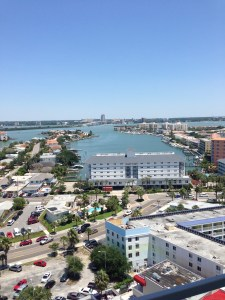 Downtown Clearwater across the bay.