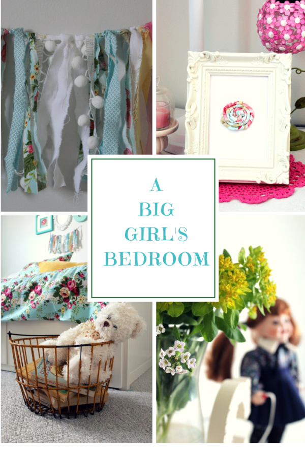 A Big Girl's Bedroom