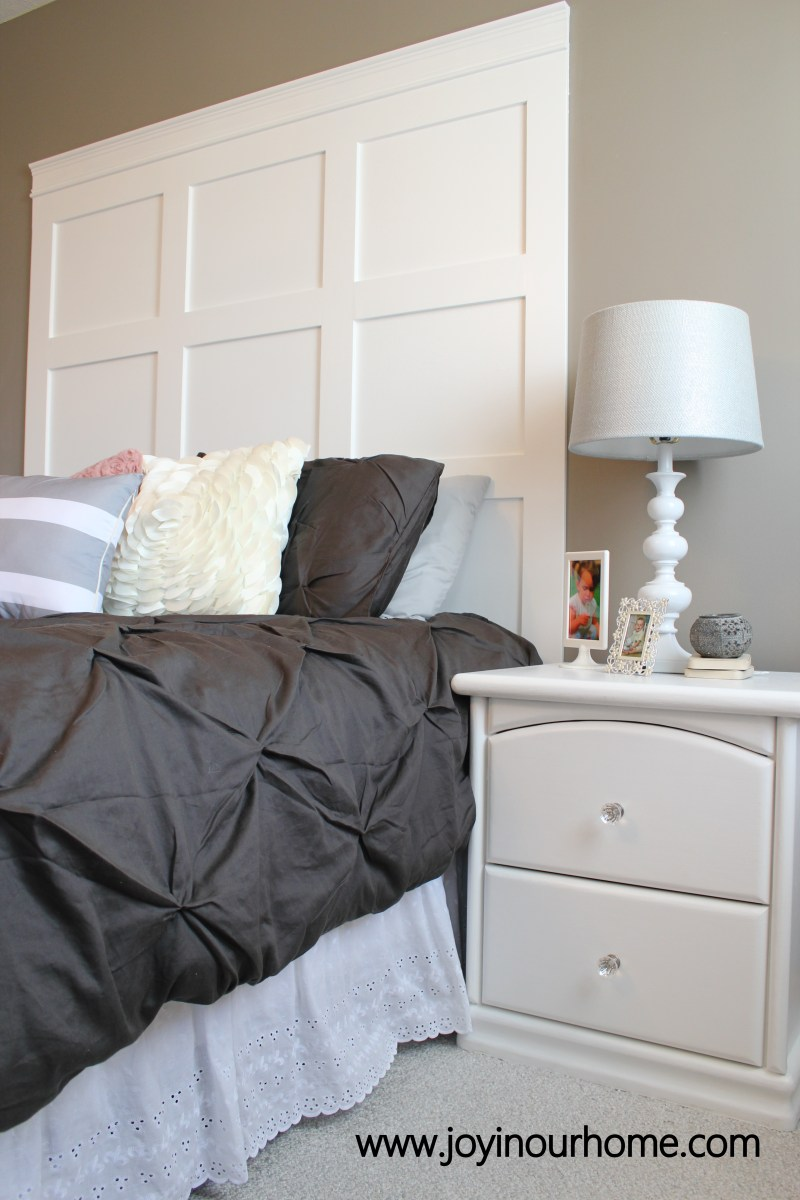 How To Make A Board And Batten Headboard Joy In Our Home