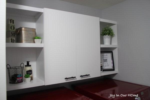 Laundry Room Reveal at www.joyinourhome.com