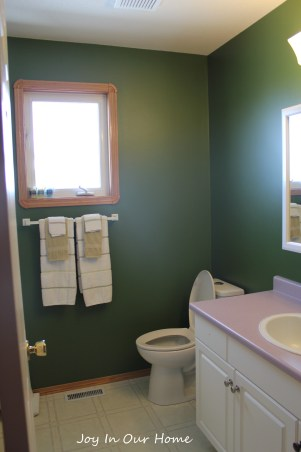 One Room Challenge Bathroom Makeover at www.joyinourhome.com