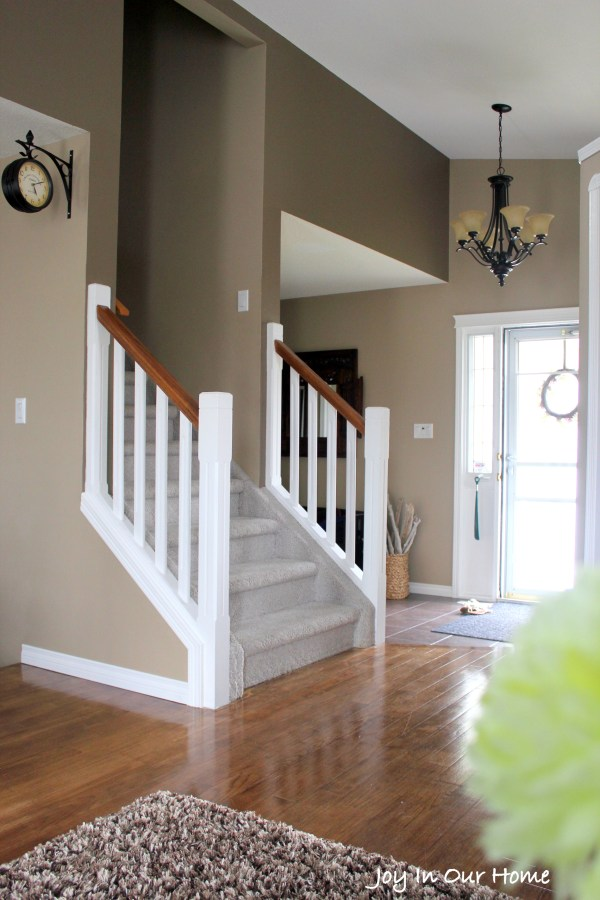 Staircase using Chalkpaint