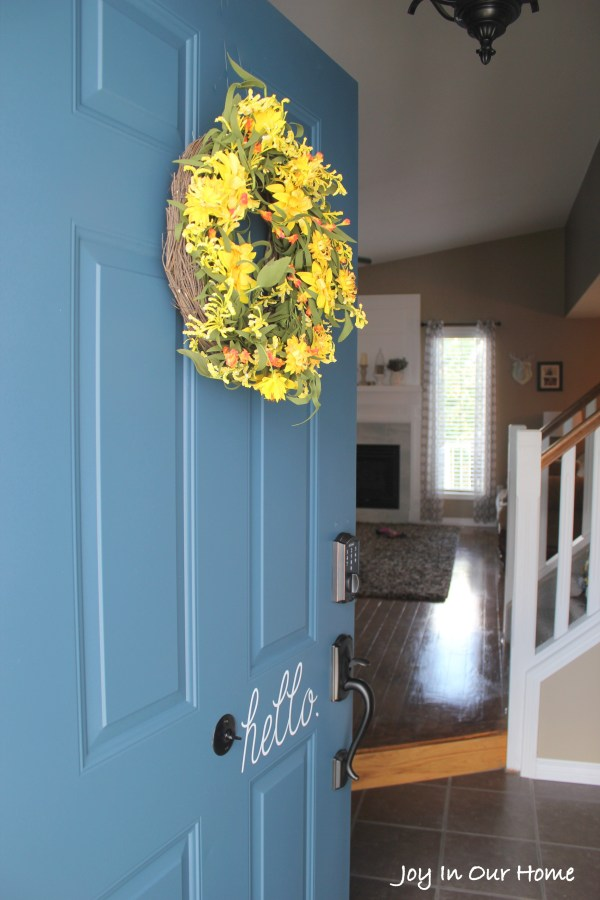 The Easiest Way To Paint a Door