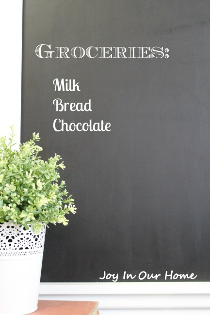 Kitchen Chalkboard Frame