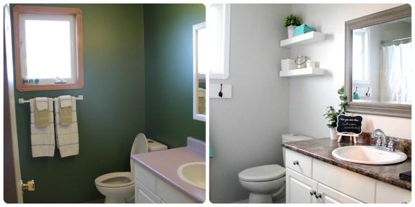 Master Bathroom Reveal by www.joyinourhome.com