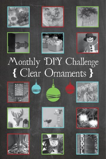 Hot Chocolate Mix Ornaments and the DIY Monthly Challenge on www.joyinourhome.com