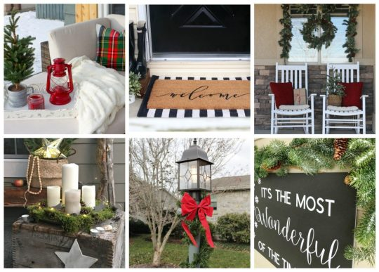 frontporches-collage-1200x859 Outdoor Christmas Tablescape Christmas Holidays