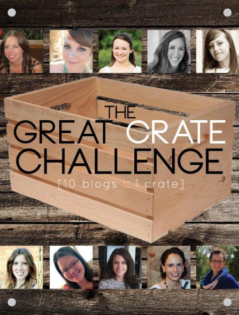 The Great Crate Challenge  www.joyinourhome.com