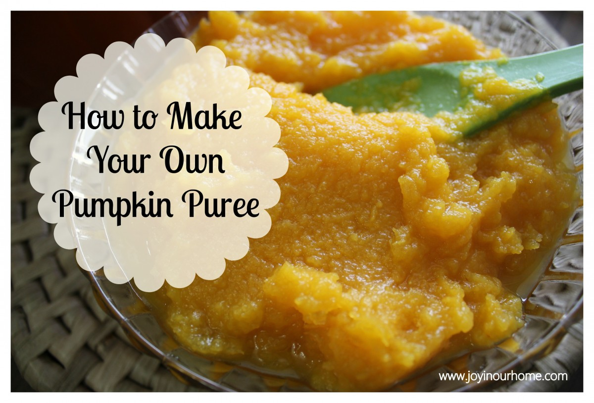 Making Your Own Pumpkin Puree 14 Days Of Pumpkins