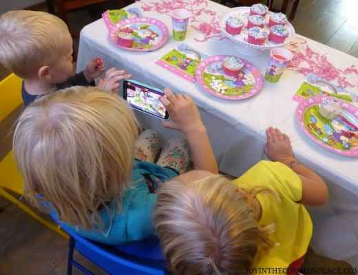 Kids Watching Magic Xperience App