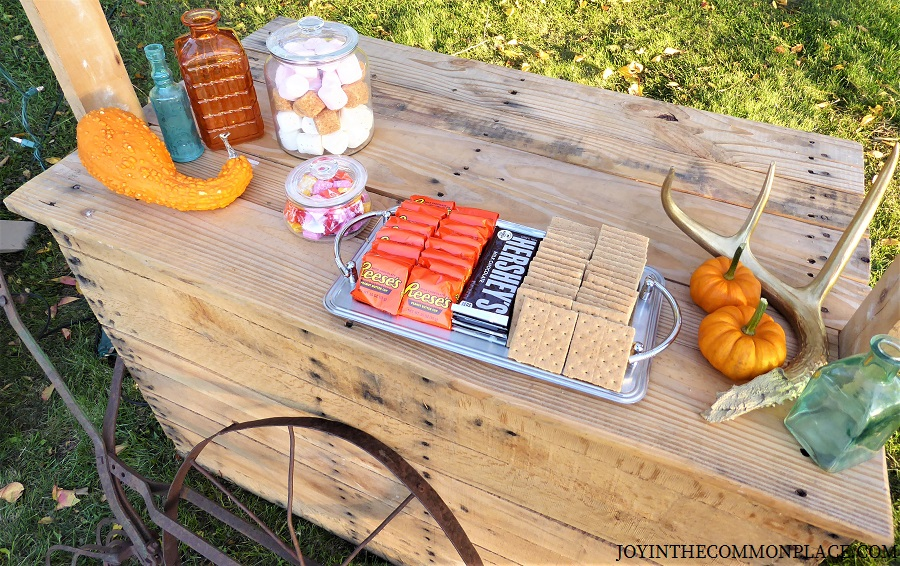S'mores Bar Harvest Party