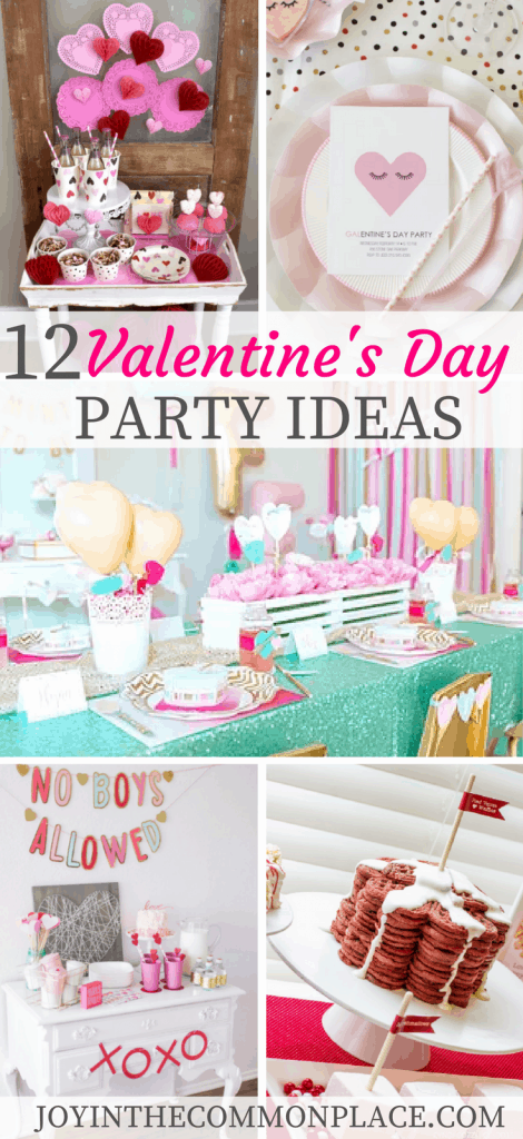 12 Valentine S Day Party Ideas