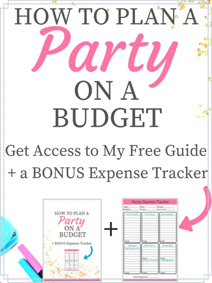 Free Guide to Party Planning on a Budget
