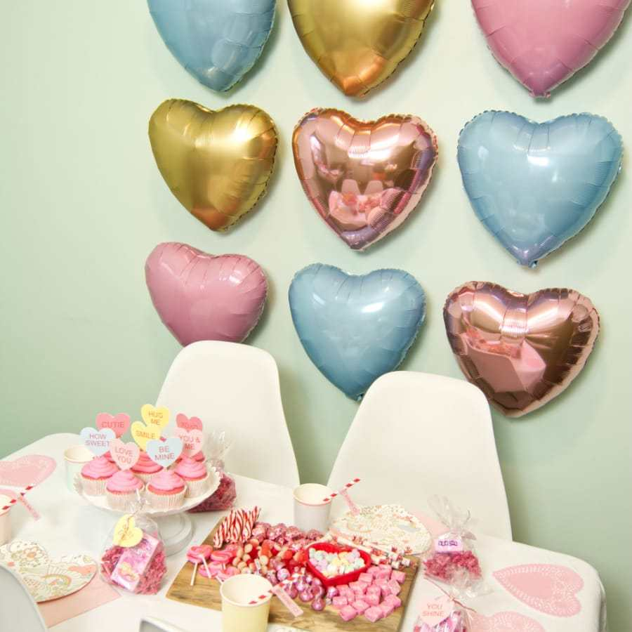 Conversation Heart Valentine's Day Party