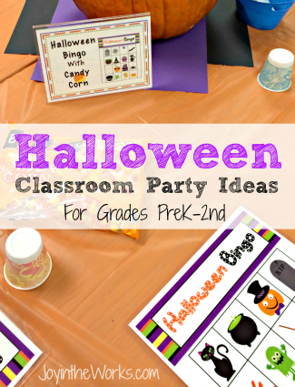 Spooky gift box ribbons & medals: Halloween Class Party Ideas Grades Prek 2nd Joy In The Works