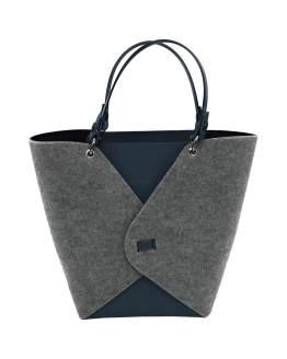 Joy-borse-componibili-vegan-made-in-italy-alessia-blu-grigio-panno-double-face