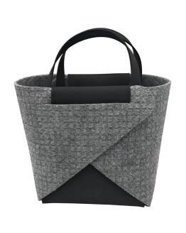 Joy-borse-componibili-vegan-made-in-italy-francesca-nero-geometrico-material