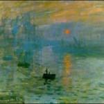 Sunrise, Monet