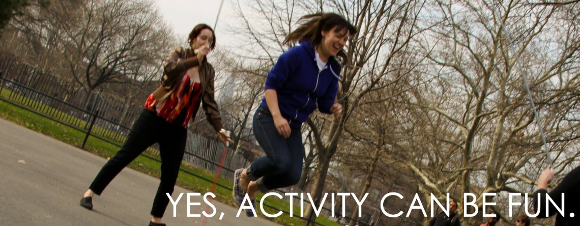 Slide1-Yes Activity Can Be Fun
