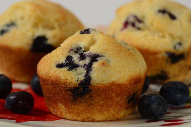 Blueberry Cornbread Muffins Joyofbaking Com Video Recipe