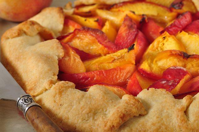 Peach Tart Recipe Video Recipe