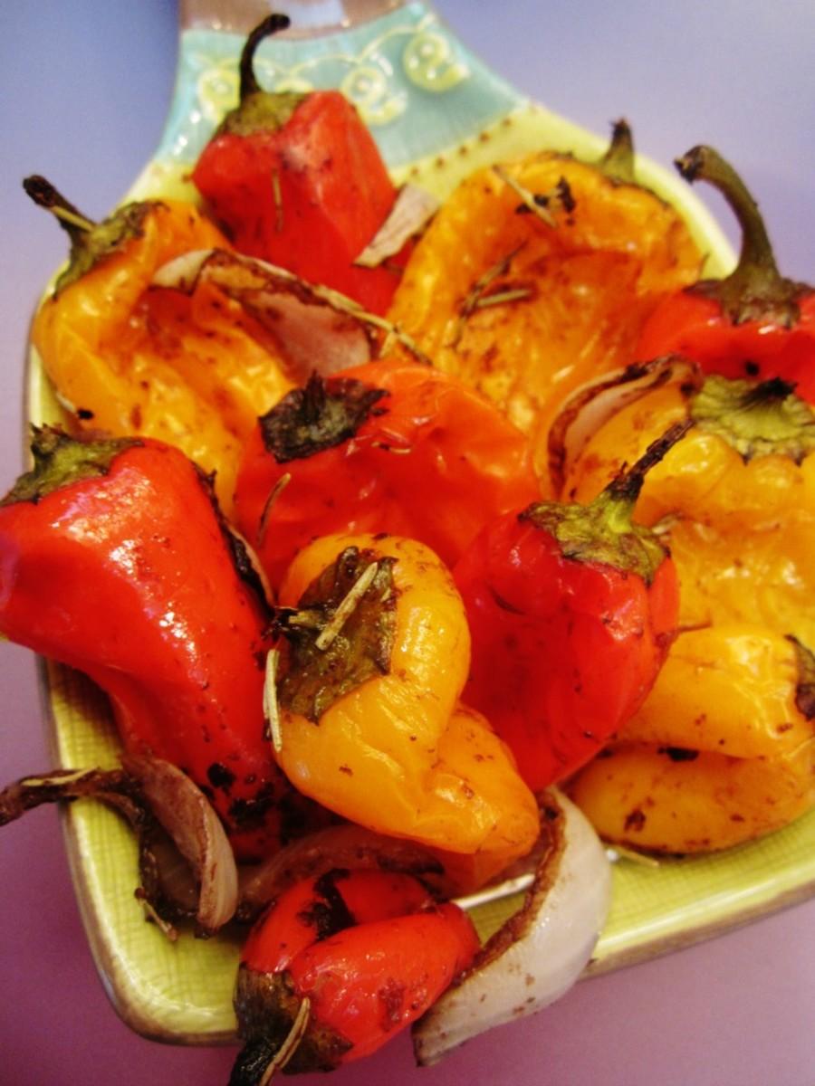 Balsamic Roasted Mini Peppers Joy Of Kosher