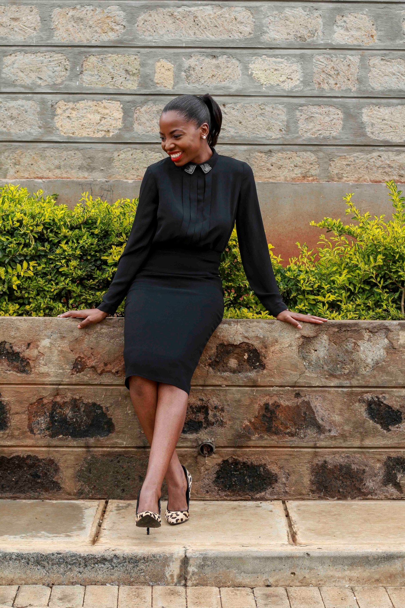 styling black outfits joy quint