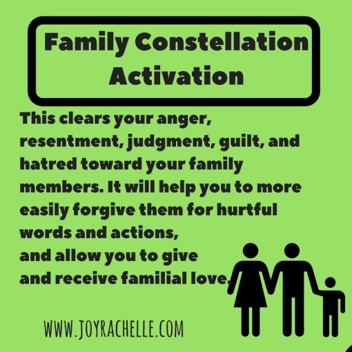 Family Constellation Sacred Activation