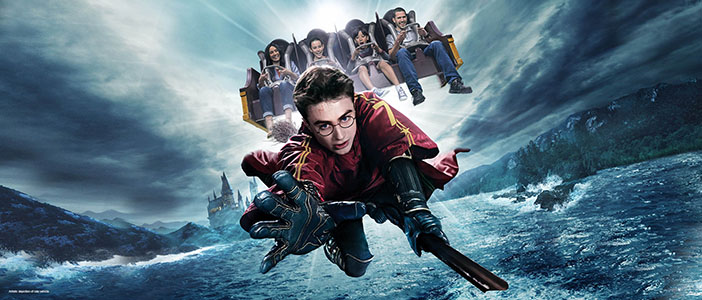 Harry Potter Ride California