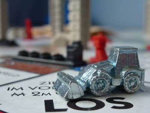 Monopoly Stock Photo