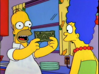 The Simpsons Money
