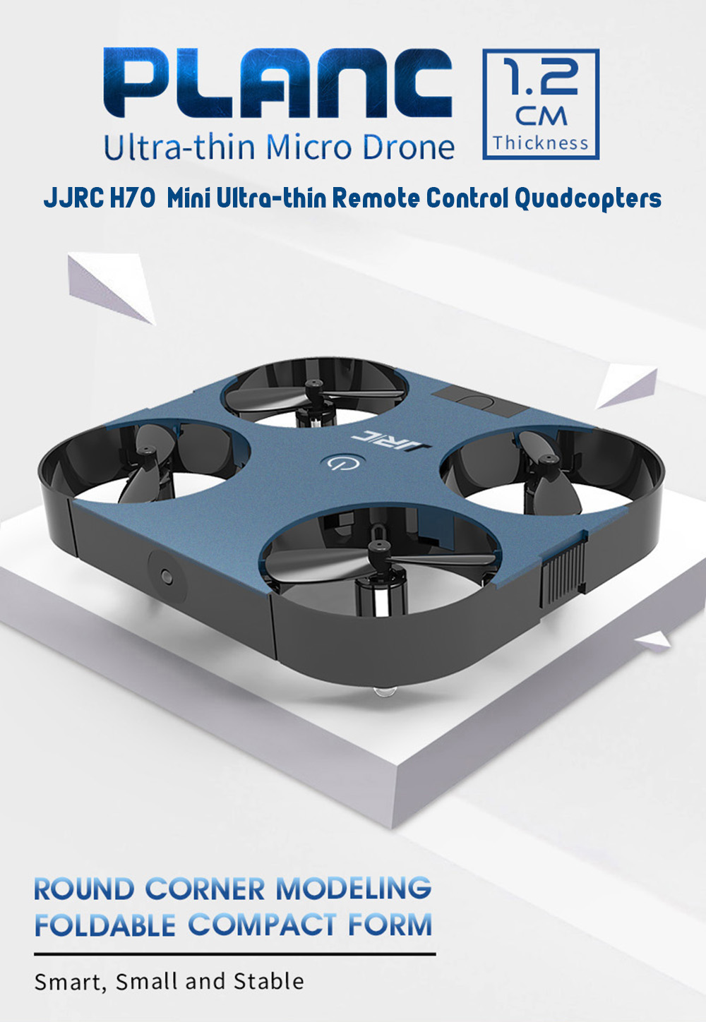 We offer great quantity of top quality jjrc h68 drone and spare parts with! JJRC H70 Mini Ultra-thin Remote Control Quadcopters - Red