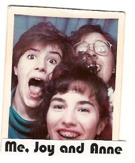 Joy and friends circa 1988