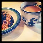 coffee and granola