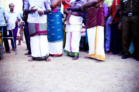 bare feet in Sri Lanka