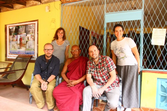 Venerable Thero and team