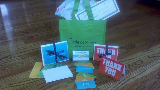 Little Card Co Prize Package