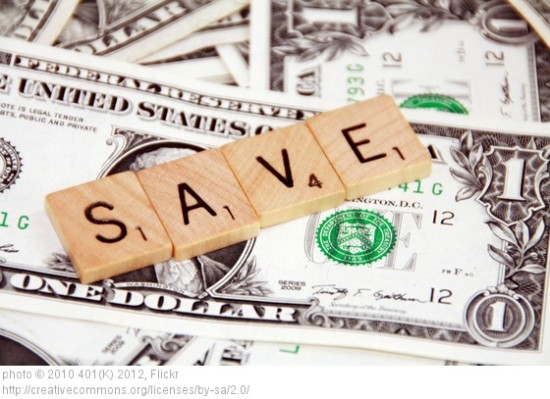 picture of saving money