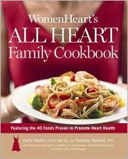 cover by WomenHeart's All Heart Family Cookbook