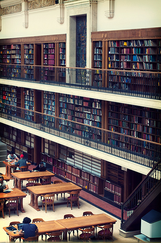 photo of Mitchell Library Reading Room, The State Library of NSW