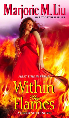 cover of Within the Flames by Marjorie Liu