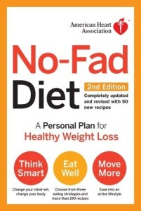 cover of No-Fad Diet by the American Heart Association