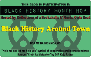 logo for Around Town -- Black History Month Blog Hop