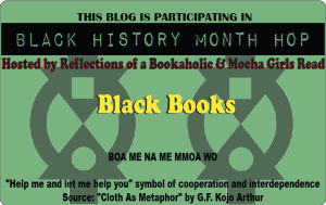 logo for Black History Month Blog Hop -- Black Books