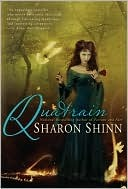 cover of Quatrain by Sharon Shinn