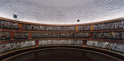 "photo of ""Library"" by Andreas Gursky"
